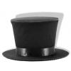 Mini Burlesque Top Hat - Black